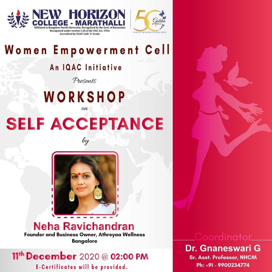 Workshop on Self Acceptance